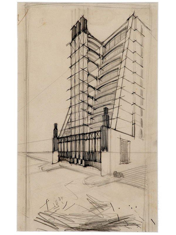 Casa a gradinata con ascensori esterni sant 39 elia for Case con ascensori